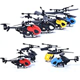 RC 5012 3.5CH Mini Rc Helicopter Radio Remote Control Aircraft Toy Gift Micro 3.5 Channel,Ferngesteuerte Helikopter,Helikopter (Blau)