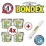 Bondex BigPack XL 4x Douglasien Öl Douglasie 4,00l 329616 + 1 x Bondex Zollstock