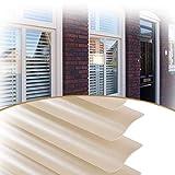 ZXD PVC Jalousien Trimmbar 2,5 cm Breite Lamellen Heimbüro Schutz Der Privatsphäre Für Fenster & Tür (Color : B, Size : 130x160CM)