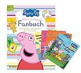 Peppa Pig: Mein wutziges Fanbuch + Peppa Wutz Minibücher, Beschäftigungsbuch ab 3 Jahren