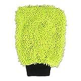 Auto Waschhandschuh Microfaser, Weicher Korallen Autowaschhandschuh Für Autowäsche Reinigung Auto Motorrad Profil Autoschwamm, Scheiben Ohne Kratzer, 22X15Cm