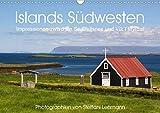 Islands Südwesten 2021. Impressionen zwischen Snæfellsnes und Vík í Mýrdal (Wandkalender 2021 DIN A3 quer)
