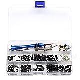 Perfeclan RC Reparatur-Werkzeug Schrauben Flanschhülse Sechskantschlüssel Box-Set für Wltoys 1/14 144001 RC Car