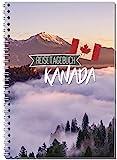 Reisetagebuch Kanada zum Selberschreiben/Notizbuch A5 Ringbuch mit 120 Seiten/Packliste, Reiseplan, Zitate, Fun Facts, spannende Reise-Challenges. - Von Sophies Kartenwelt
