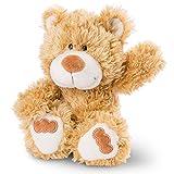 NICI 46505 Kuscheltier Bär 20 cm – Plüschtier für Mädchen, Jungen & Babys – Flauschiges Stofftier zum Spielen, Sammeln & Kuscheln – Gemütliches Schmusetier, Goldb