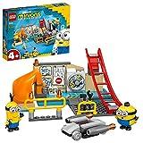 Lego 75546 Minions in Grus Labor Spielzeug für Kinder ab 4 Jahre mit Figuren Otto und Kevin