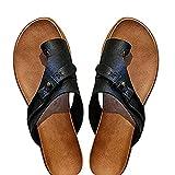 Damen Sandalen Hausschuhe Big Toe Hallux Valgus Die Behandlung Frauen Open Toe Flache Pantoffeln Sommer Outdoor Strand rutschfeste Badelatschen,Schwarz,42