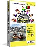 Portugiesisch-Kindersprachkurs von Sprachenlernen24.de: Kindgerecht bebildert und vertont für ein spielerisches Portugiesischlernen. Ab 5 Jahren. PC CD-ROM für Windows 8,7,Vista,XP / Linux / Mac OS X