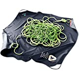 deuter Unisex-Adult Gravity Rope Sheet Seiltasche, Black, 140 x 140 cm