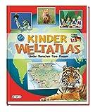 Kinder-Weltatlas: Länder, Menschen, Tiere, Flaggen