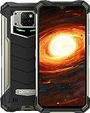 DOOGEE S88 Pro (2020) Outdoor Handy 4G Wasserdichter Smartphone Ohne Vertrag Mecha Atemlampe 10000mAh Reverse Charge Android 10.0 6GB+128GB 6,3 Zoll 21MP Triple Kamera IP68/IP69K Smartphone (Grün)