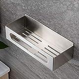 RUICER Duschablage Ohne Bohren Duschregal Edelstahl Duschkorb für Badezimmer