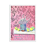 Henry Matisse Retro-Poster und Drucke abstrakte Landschaftswandkunst Retro-Bilder Familie rahmenlose Leinwandbilder A2 15x20cm