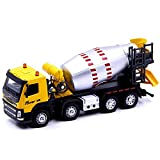 Xolye Legierung Tank Car Modell 2 Farben Optional Zement Beton-Spielzeug-Auto Simulation Sound- und Lichttechnik Auto-Metall Anti-Sturz Boy Toy Car Sliding Inertial Transport Spielzeug-Auto