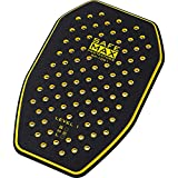 Safe Max® Motorrad Rückenprotektor Einsatz für Motorradjacke RP-1001 Rückenprotektor Einsatz, 3-lagig, Schutzkl.1 gelb M, Unisex, Multipurpose, Ganzjährig, Kunststoff