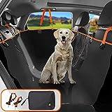 Sitzbezug des Autos für Haustier Dog Seat Cover for Car 4-in-1 Abnehmbarer Sitzbezug für Haustiere, mit 2 Sicherheitsgurten und Einer Aufbewahrungstasche