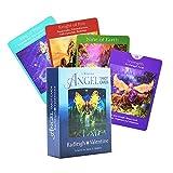 78 Tarotkarten, Angel Tarot Oracle-Karte, Englisch, Wahrsagungsspiel für das Leben, Brettspiele Palying-Karten für Partyspiele