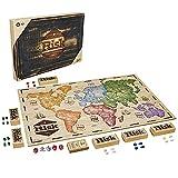 Hasbro Gaming-Risk, Rustikale Ausgabe aus Holz, Strategiespiel, französische Version, für 2 bis 6 Spieler, C2322101