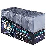 TitanShield 7,6 x 10,2 cm Toploader für Sammelkarten (100 ct.)