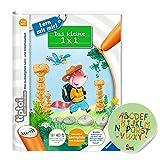 Ravensburger tiptoi ® Buch | Das kleine 1 x 1 - Lern mit mir! + Buchstaben Kinder Sticker - 1x1 Einmaleins Rechnen