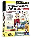 Das große Druckerei Paket 2021 - Einladungen, Glückwunsch Karten, Etiketten, CD-DVD Labels, Visitenkarten für Windows 10, 8.1, 7
