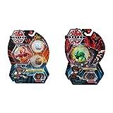 Bakugan 6045144 - Starter Pack mit 3 Bakugan (1 Ultra & 2 Basic Balls), unterschiedliche Varianten & 6045148 - Basic Ball 1er Pack, unterschiedliche V