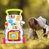 Interaktives Lernen Walker, Science Educational Baby Spielzeug Sicheres Stehen & Ziehen Spielzeug zum Sitzen, für Kinder Kleinkind Kinder Baby