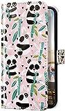 Uposao Kompatibel mit Samsung Galaxy S10 Plus Hülle Glitzer Bling 3D Bunt Marmor Leder Hülle Flip Schutzhülle Handyhülle Brieftasche Wallet Leder Tasche Case Magnet Ständer Kartenfach,C