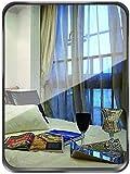 Dekorative wandspiegel Badezimmer Spiegel Schminkspiegel Gold / Schwarz, Wanddekoration großer Spiegel