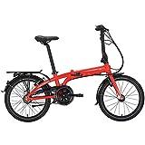 Tern Unisex Fahrrad Link C7i Faltrad, 7 Gang, 20', Rot, CB19PFCO07HDR