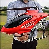 Moerc RC Hubschrauber 3.5 Kanäle Große Fernbedienung Flugzeuge mit Gyro LED-Licht Ladekolben Elektrische Fallresistente Flugzeuge Drohne Kinder Outdoor Toys Erwachsene Hubschrauber Elternkind Junge