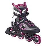 K2 Skate Damen Inline Skate Ascent 80 W — Black - Purple — EU: 36.5 (UK: 4 / US: 6.5) — 30F0760, 40 EU