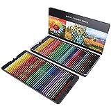 Aquarell-Bleistift-Set, Mehrfarbige Kunst-Zeichenstifte, 72-Farben-Box-Geschenk, für Kunststudenten, die Malstifte Zeichnen