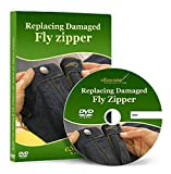 Replacing (Changing) Damaged Fly Zipper on Jeans or Dress Pants - Video Lesson on DVD