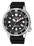 CITIZEN Herren Analog Quarz Uhr mit Plastik Armband BN0150-10E