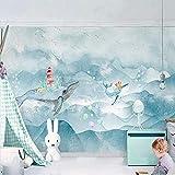 Benutzerdefinierte Tapete moderne kreative goldene geometrische Linien moderne abstrakte Kunst Foto Wandbild Wohnzimmer Tapete-400x280cm