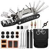 Fltaheroo 27 Teiliges Fahrrad Werkzeug Set, Pannen Reparatur Set, Fahrrad Multi Werkzeug, Mountainbike ZubehhR, 16 im 1 Fahrrad Multifunktions Werkzeug