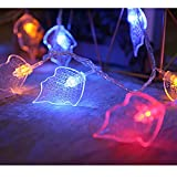 Solar Lichterkette Aussen Solar Outdoor Ultra-lange String-Licht, 2 Farben, 8 Modi, wasserdichte Solar-Fee-Licht für Gartenterrasse Baum-Party-Hochzeit Solar Lichterkette (Color : Color)