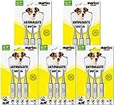 martec PET CARE Spot on Hund - unter 15 Kg - Parasitenabwehr auf pflanzlicher Basis - gegen Zecken, Milben, Flöhe - 15x Spot On für Hunde