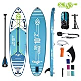 """Skiffo SUNCRUISE 10'2""""SUP Board Stand Up Paddle Surf-Board Paddel ISUP 310X84cm"""