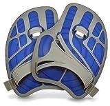 Aqua Sphere ErgoFlex Handpaddel, blau-grau, L/XL