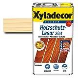 Xyladecor® Holzschutz-Lasur 2 in 1 Farblos 2,5 l - Dünnschicht Lasur - schützt - imprägniert & farbbeständig