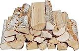 Hoyo Technology GmbH 30 kg Birke trocken Kaminholz Brennholz Feuerholz G