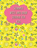 Summer write and draw journal for kids: Primary story journal dotted midline and picture space. Early Creative Story Book for Kids. Lakeshore draw and ... k-2. Large 8.5''x11'' size, 114 White Pages.