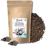 SIMPLICITHÉ Jasmin-Tee im Pyramidenbeutel, ganze Grüntee Blätter in biologisch abbaubaren Teebeutel, Grüner Tee mit Jasmine Blüten, 50x3g