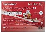 Perfect Colouring Paper, Markerpapier DIN A4, 250 g/qm, 50 Blatt, für Farbverläufe, Manga-Zeichnungen, Card-Making und Scrapbooking, geeignet für Laserdrucker