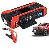 OLDSAN 12V Auto Starthilfe Tragbare starthilfegerät Power Bank mit 4USB LED Taschenlampe für Fahrzeuge bis zu 6.0L Benzin 5.0L Dieselmotor28000