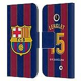 Head Case Designs Offiziell Zugelassen FC Barcelona Clément Lenglet 2020/21 Spieler Home Kit Gruppe 1 Leder Brieftaschen Handyhülle Hülle Huelle kompatibel mit Nokia Lumia 630
