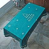 LIUJIU Generisch Tischdecke Tischfolie Tischschutzfolie ,140X230cm