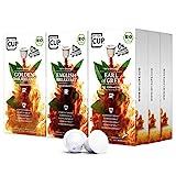 My-TeaCup – SCHWARZTEE-BOX: 9 x 10 KAPSELN BIO-TEE I 3 SORTEN BIO-TEE (BIO-SCHWARZTEE) I 90 Kapseln für Nespresso®*-Kapselmaschinen I 100% industriell kompostierbare & nachhaltige Teekapseln – 0% Alu